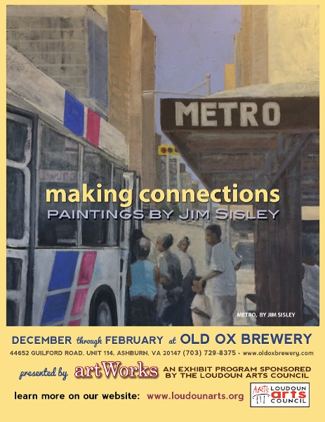 Poster for the Making Connections Exhibit at Old Ox