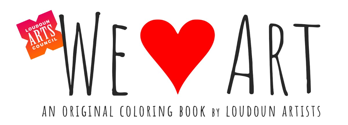 This new LAC coloring book will feature work by Loudoun artists