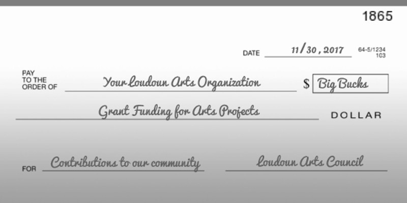 Your local arts organization could be a recipient of future grant funding!