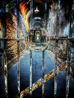 """Crossing the Ward - Eastern State Penitentiary"" by Samantha Marshall"
