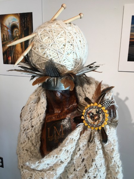 """Alpaca Shawl In Case It Gets Chilly"" by Melanie Bestwick"