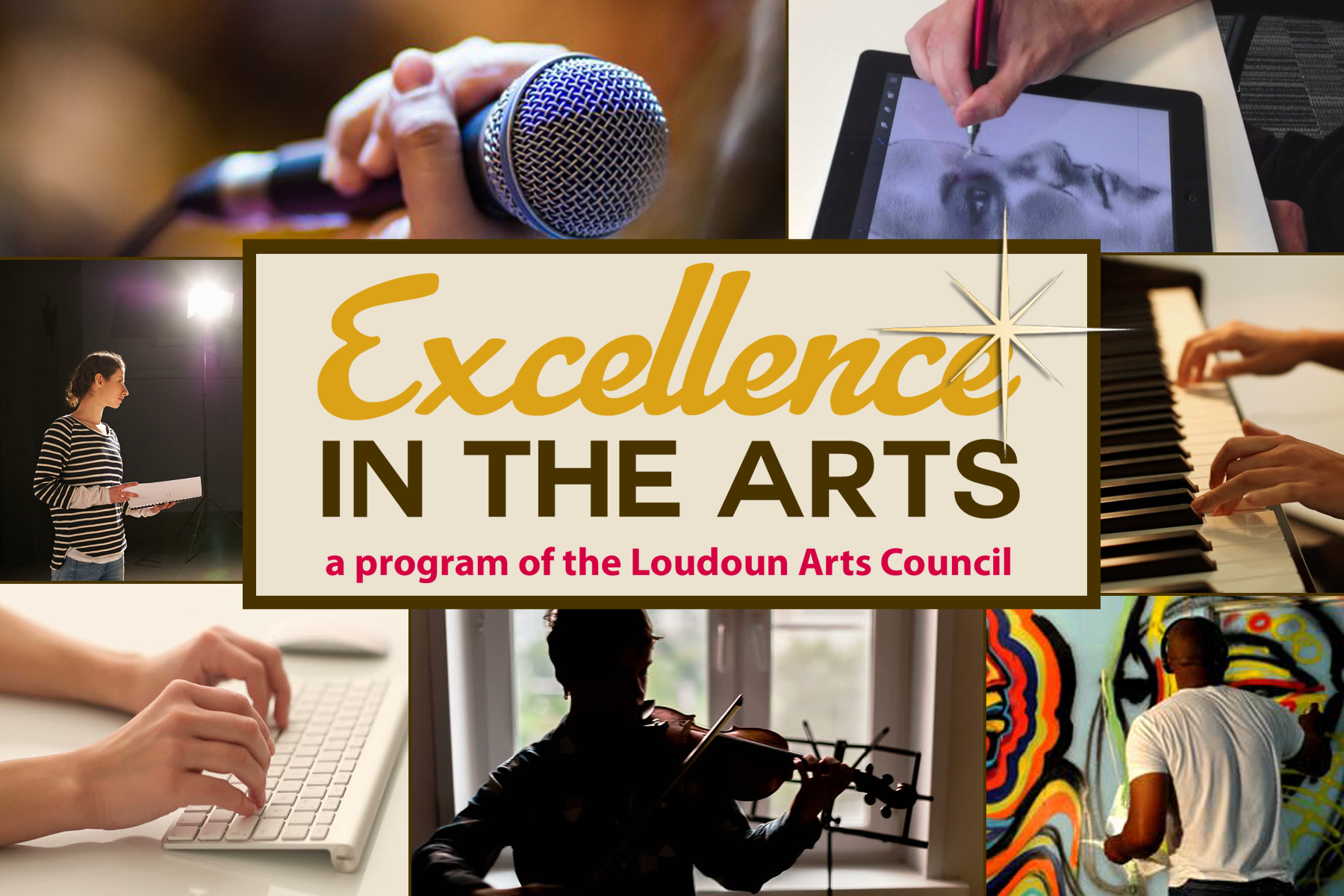 Excellence is an awards program for young visual, performing, and literary artists