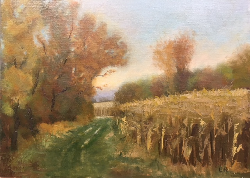 """Golden October Afternoon, Unison"" by Laura Hopkins"