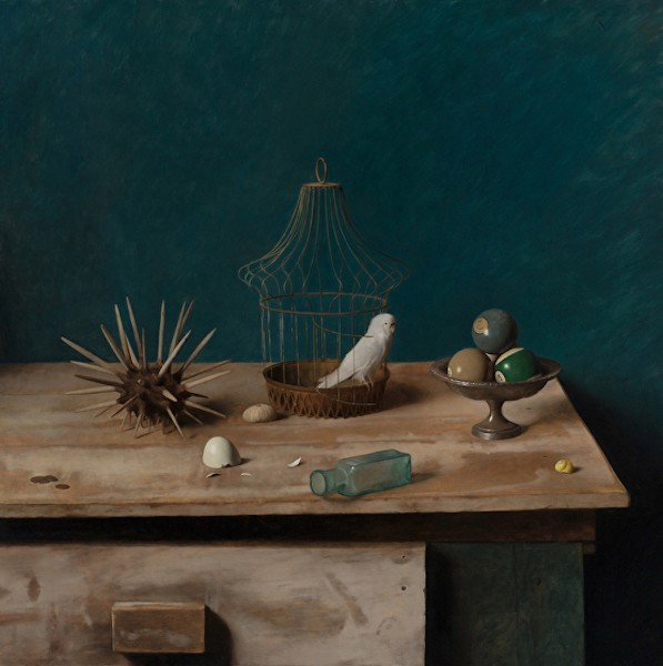 Carlo Russo Paints the Still Life