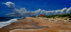 """Last Two Beachfronts"" by Charlotte B. DeMolay"
