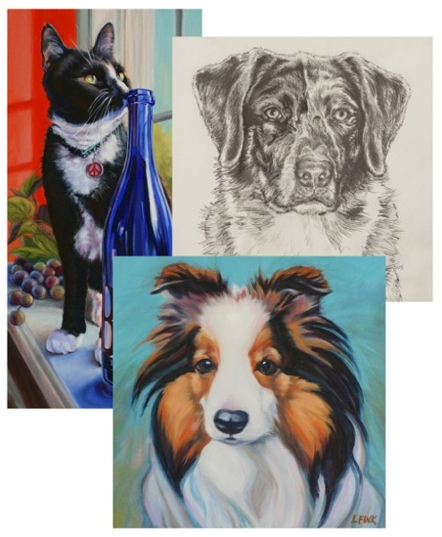 Pet Portraits by Leanne Fink