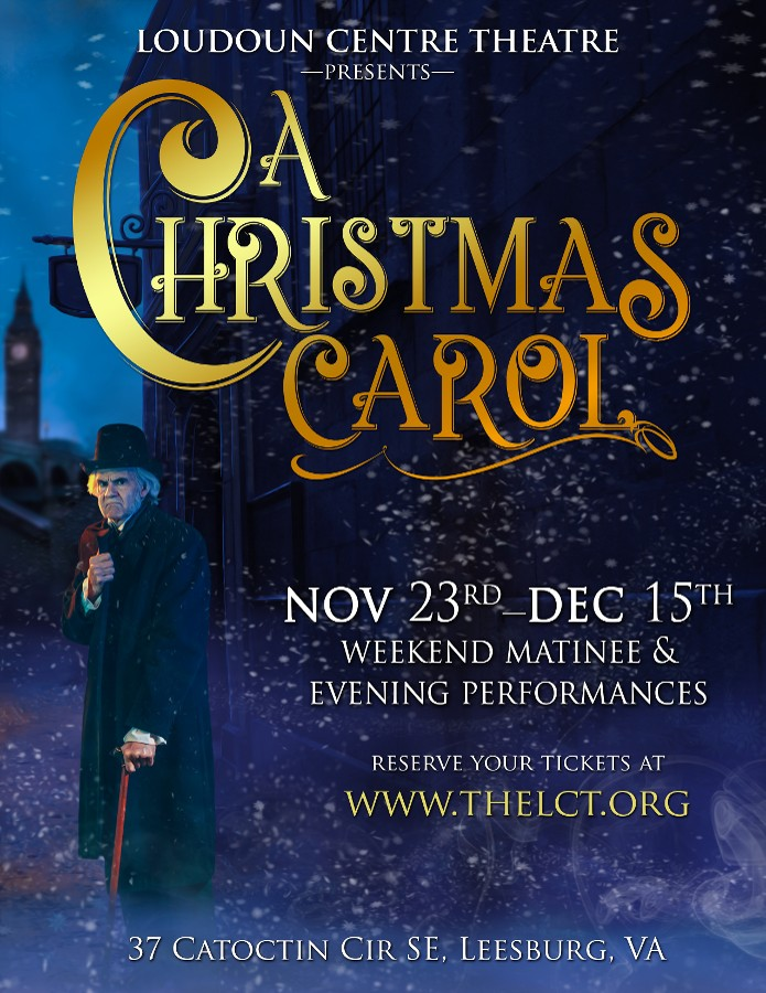 Now Playing: A Christmas Carol! November 23rd - December 15th