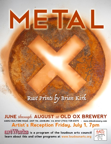 Brian Kirk Presents a Series of Rust Prints at Old Ox Brewery