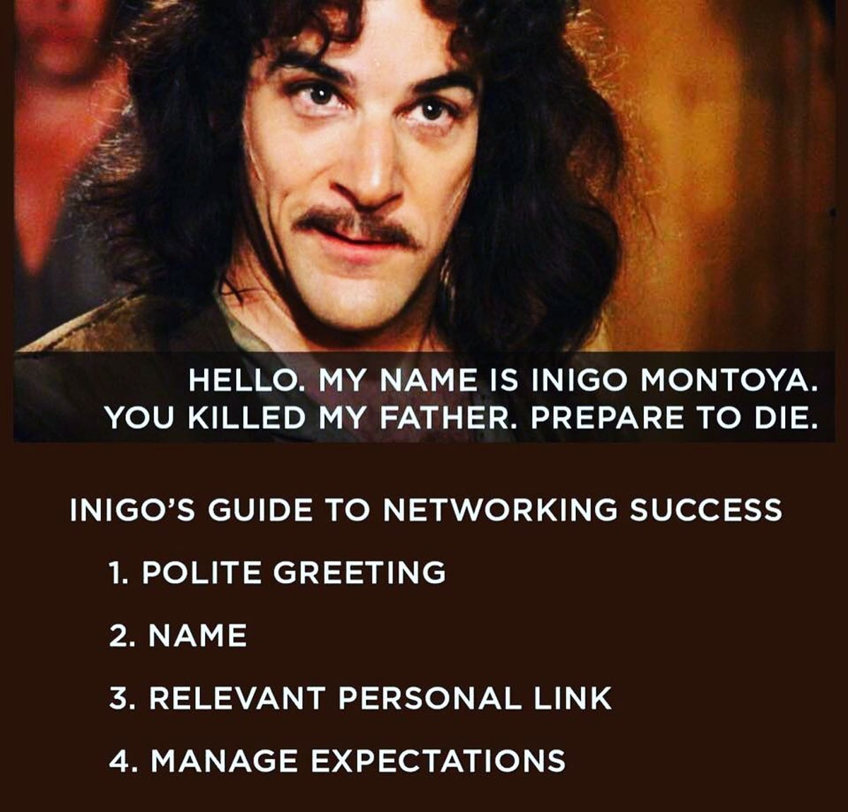 Inigo has his elevator speech ready. Do you?