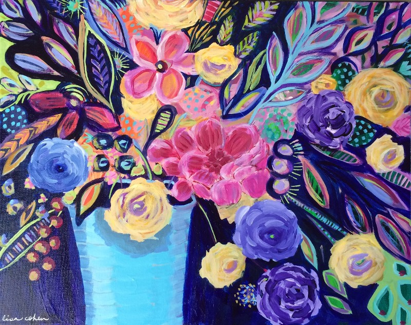 """Night Blooms"" by Lisa Cohen (price includes tax)"
