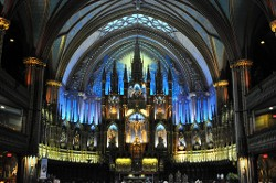 """Notre Dame, Montreal"" by Terri Parent"