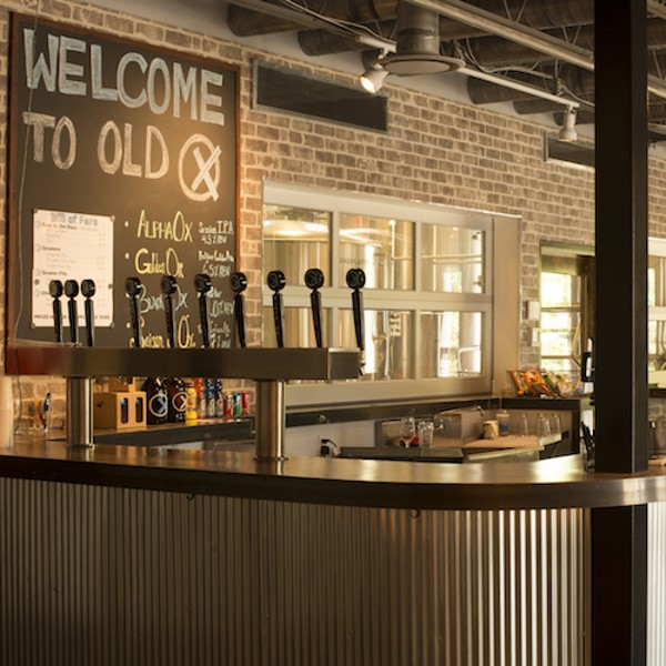 The Tasting Room at Old Ox Brewery