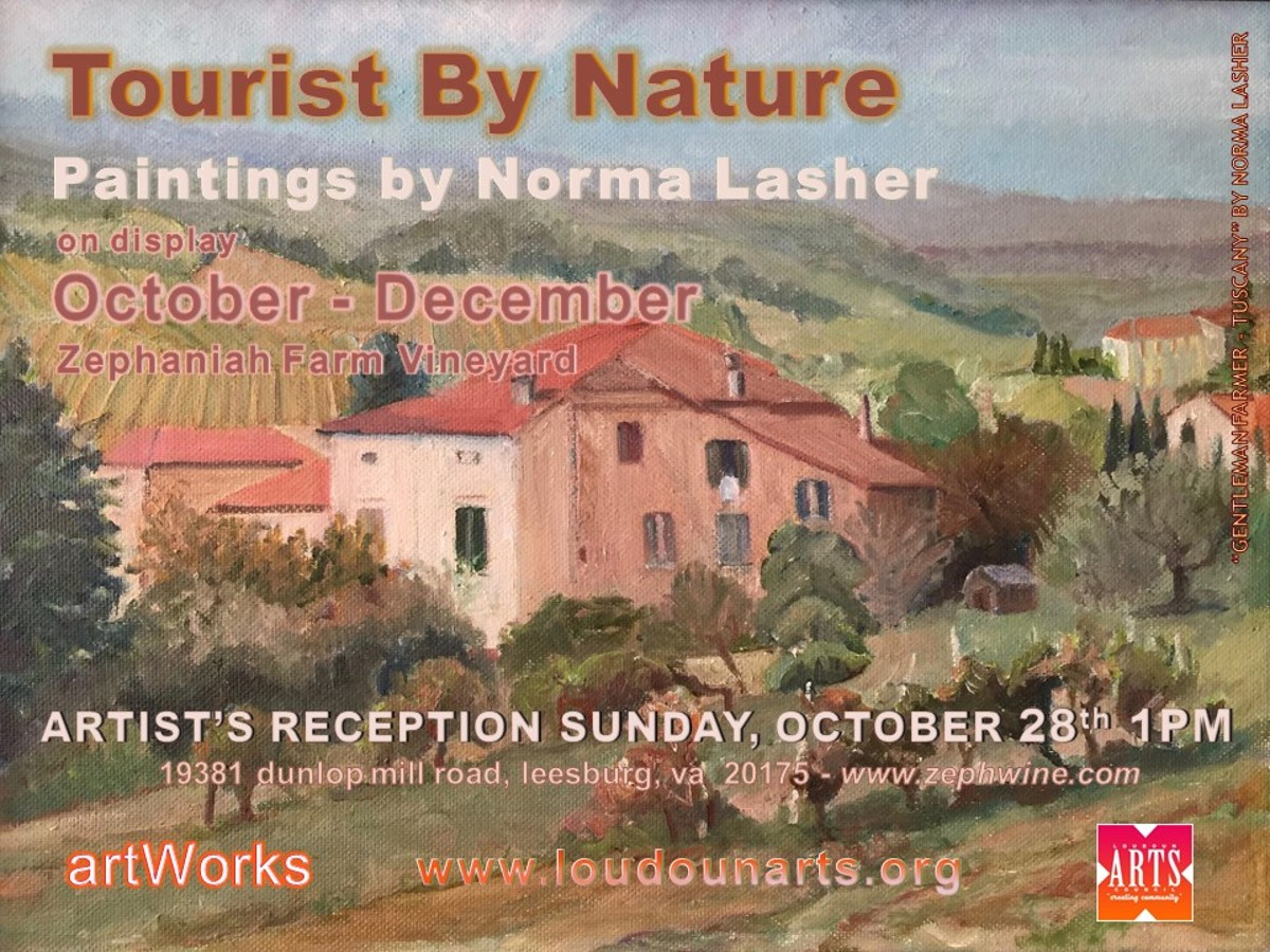 Meet the artist at a special reception on Sunday, October 28th at 1pm
