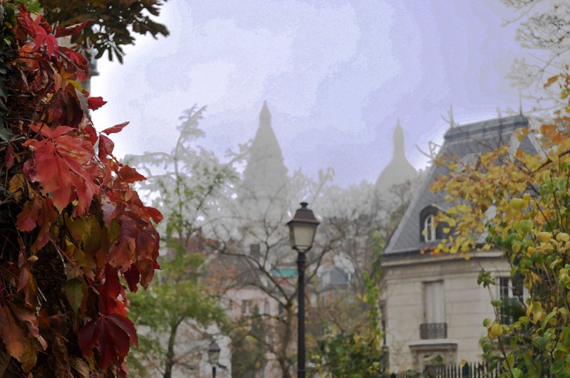 """Sacre Coeur, Montmartre"" by Terri Parent"