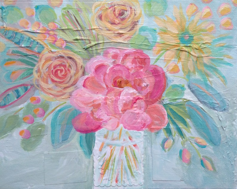 """Sun Blooms"" by Lisa Cohen (price includes tax)"
