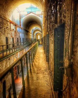 """The Long Haul - Eastern State Penitentiary"" by Samantha Marshall"
