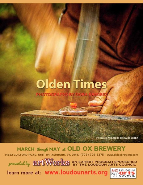 """Olden Times,"" by Dora Ramirez, on exhibit March through May at Old Ox Brewery"
