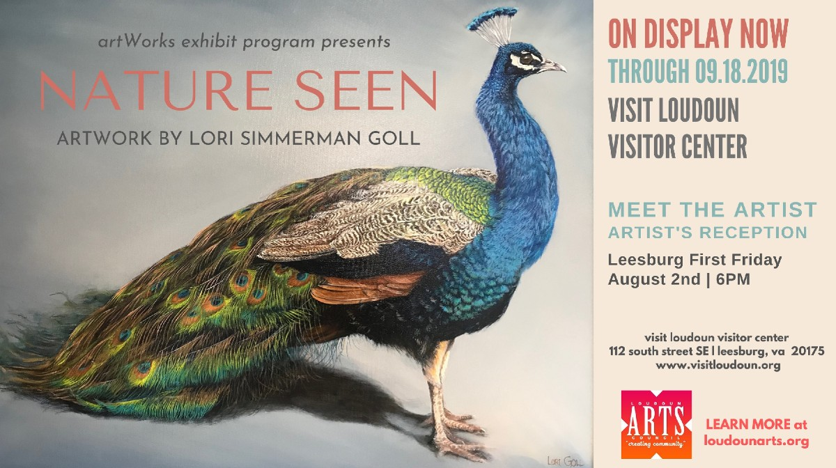 New artWorks exhibit opens at Visit Loudoun Visitor Center.